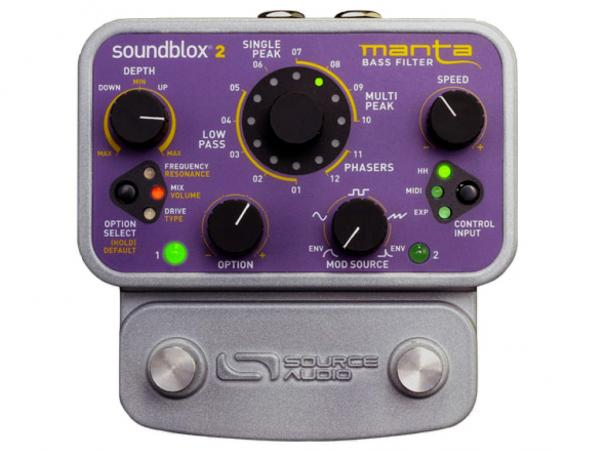 SOURCE AUDIO Soundblox 2 - Manta Bass Filter