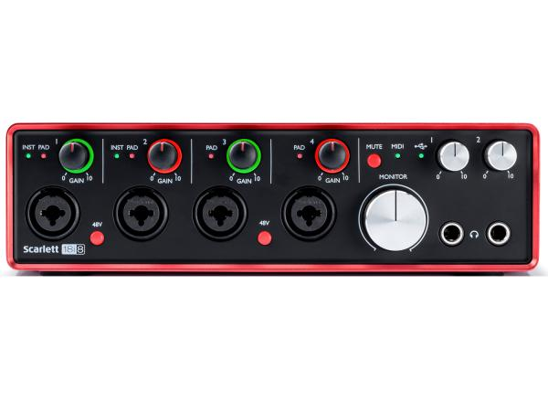 focusrite scarlett 18i8 2nd generation strumenti musicali net. Black Bedroom Furniture Sets. Home Design Ideas