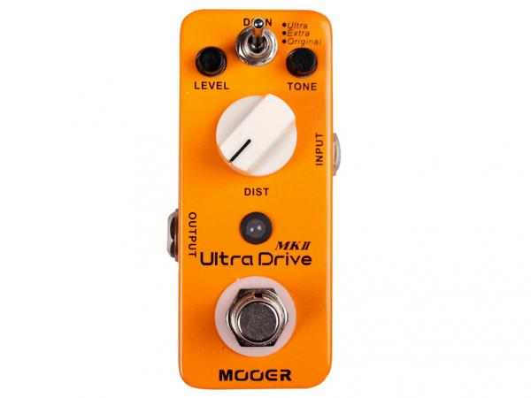MOOER Ultra Drive MKII - Distortion