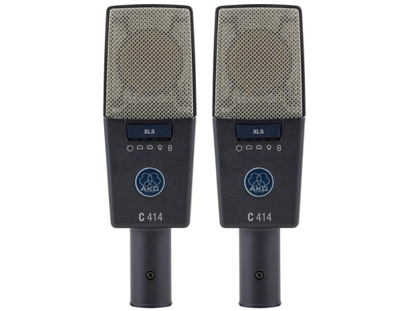 AKG C414 XLS Matched Pair Stereo Set