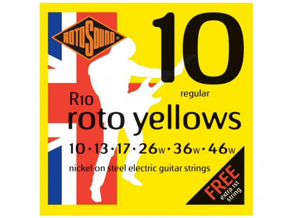 ROTOSOUND R10 Roto Yellows