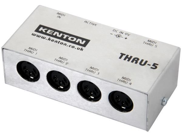 KENTON MIDI Thru 5