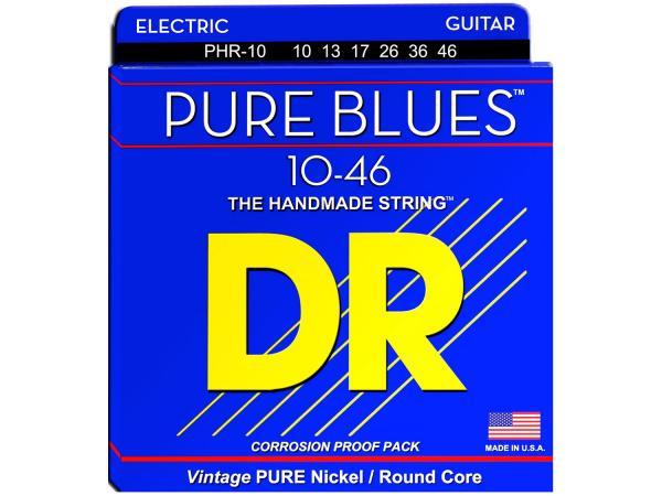 DR STRINGS PHR-10 Pure Blues Medium