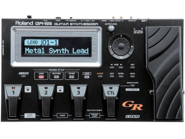 ROLAND GR-55S Black Guitar Synth