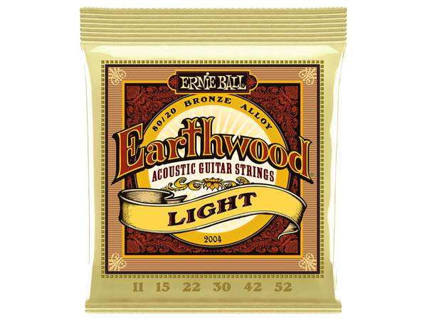 ERNIE BALL 2004 Earthwood 80/20 Bronze Light 11-52