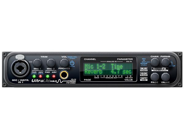 Studio E Registrazione Pro Motu Ultralite Mk3 Interfaccia Audio Ibrida Firewire/usb