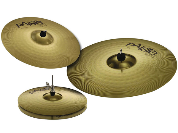 PAISTE Set Piatti 101 Ride 20'' + Crash 16'' + Hihat 14