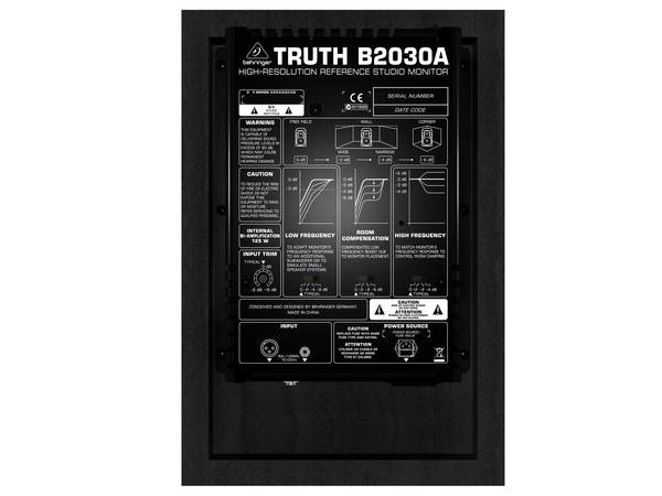 BEHRINGER B2030A Truth (coppia)