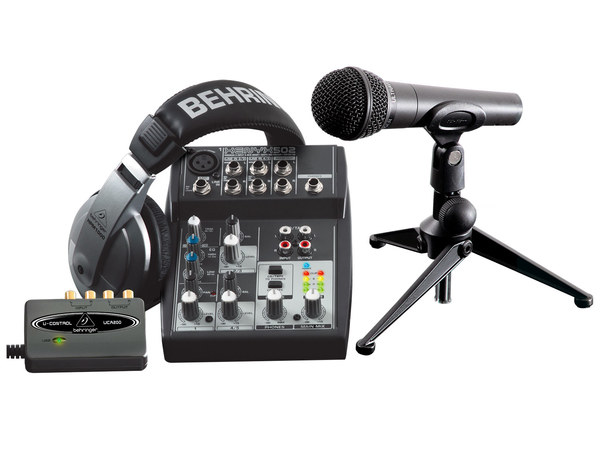 BEHRINGER Podcastudio USB