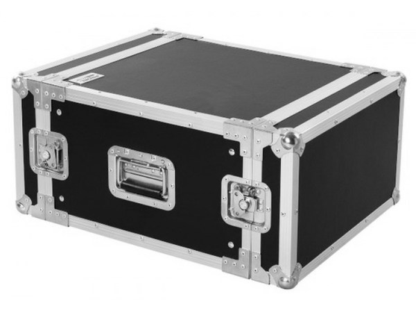 Flight Case Professionale 6 unità rack 19