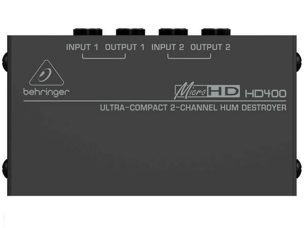 BEHRINGER HD400 Micro Hum Destroyer