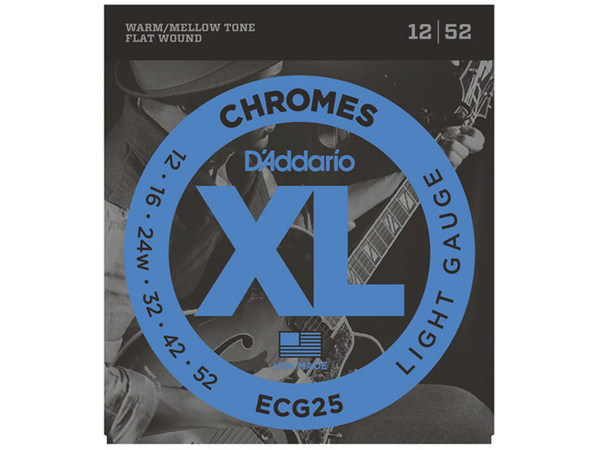 D'ADDARIO ECG25 Chromes Light