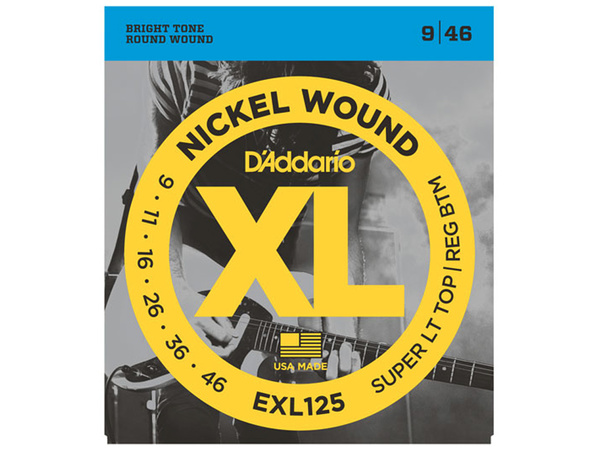 D'ADDARIO EXL125 Super Light Top / Regular Botton