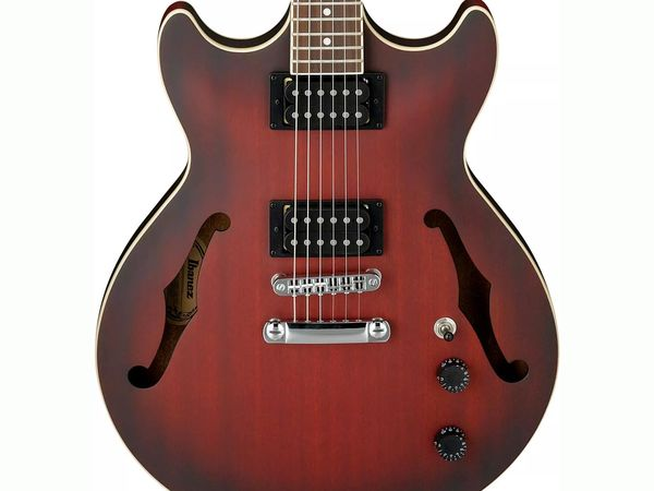 IBANEZ AM53 SRF Sunburst Red Flat Artcore