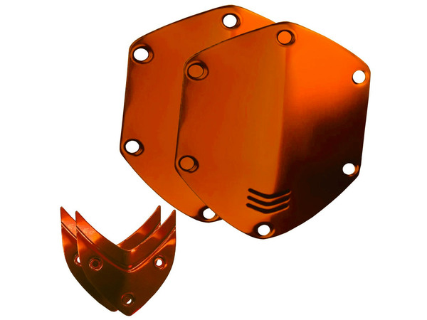 V-MODA Over Ear Shield Plates - Sun Orange