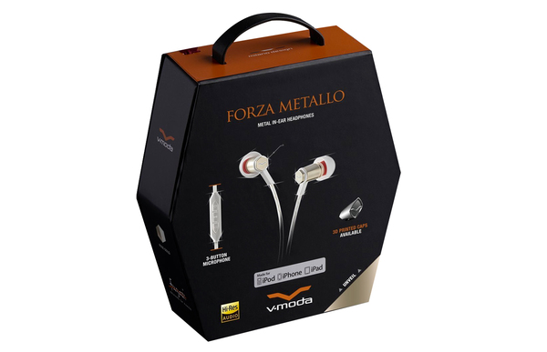 V-MODA Forza Metallo iOS - Rose Gold