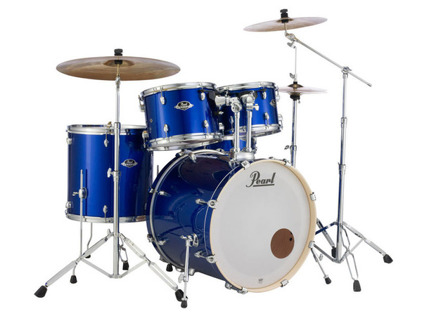 PEARL Export Standard EXX725BR High voltage Blue con Set Sabian SBR