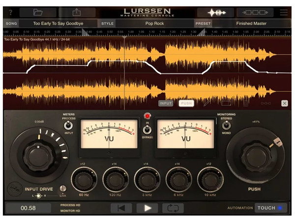 IK MULTIMEDIA Lurssen Mastering Console (download)