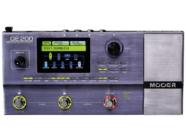 MOOER GE200 Guitar Multi-Effects Processor