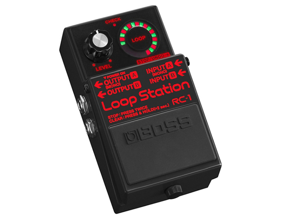 BOSS RC-1 BK Loop Station - Limited Edition
