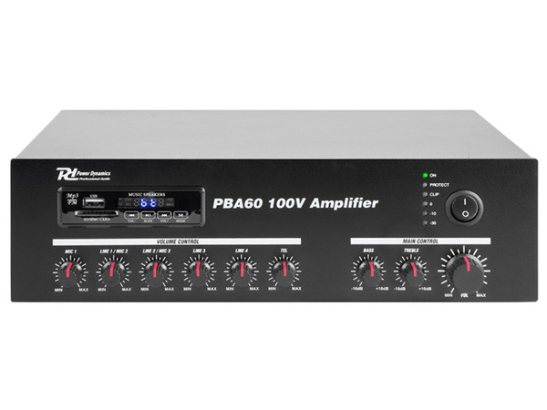 POWER DYNAMICS PBA60 100V Amplifier 60W