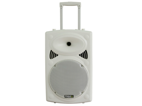 IBIZA Portable Sound System USB/SD Bluetooth 700W White