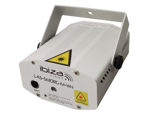 IBIZA Mini Firefly Laser Red/Green 100+30mW (white)