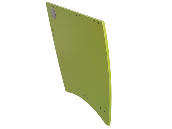 PALLADIO 10 Standard Side - Lime Green