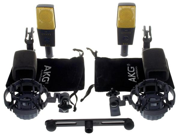 AKG C414 XLII Matched Pair Stereo Set
