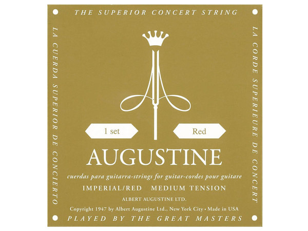 AUGUSTINE Imperial Red