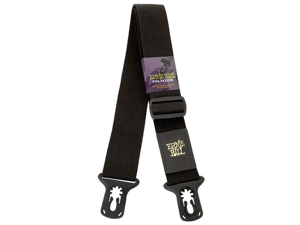ERNIE BALL 4056 PolyLock Guitar Strap Black