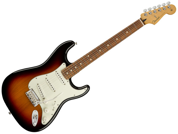 FENDER Player Stratocaster PF 3-Color Sunburst