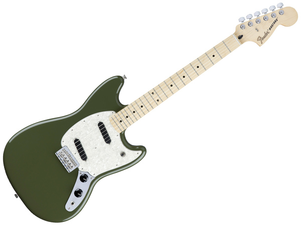 FENDER Mustang, MN Olive