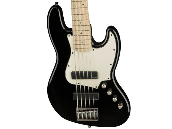 FENDER Squier Contemporary Active Jazz Bass V HH MN Black