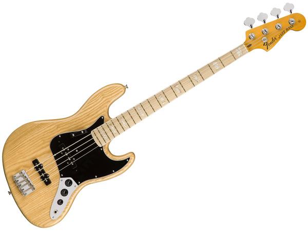 Fender american original 70s jazz bass mn natural strumenti