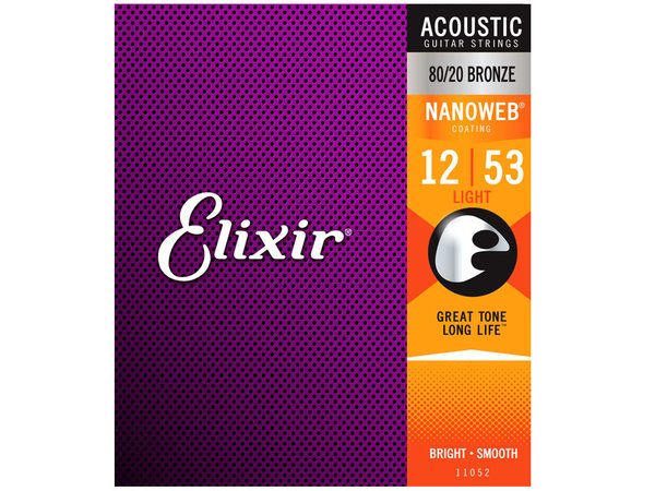 ELIXIR 11052 Nanoweb Light Acoustic Bronze