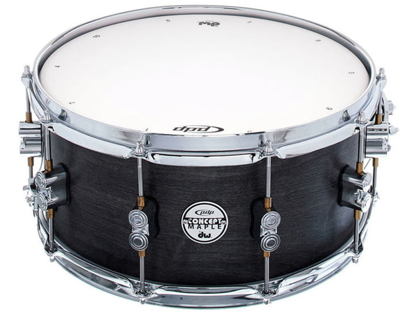 DW PDP Black Wax Snare Drum 14