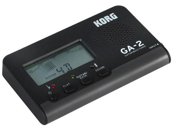 KORG GA-2 Black Guitar/Bass Tuner