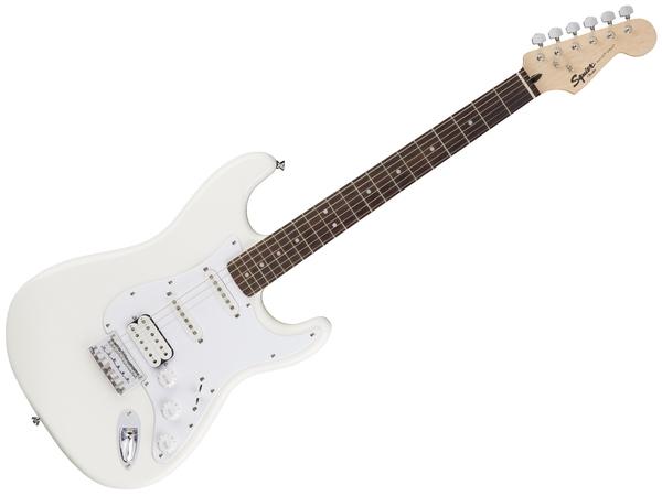 Fender squier bullet stratocaster rw hss ht artic white