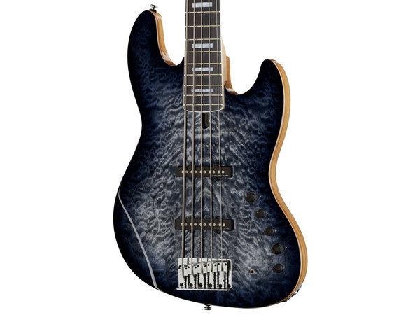 MARCUS MILLER V9 Swamp Ash 5 Transparent Black (2nd Gen)