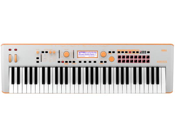 Korg Kross 2 61 Go Grey Orange Special Edition