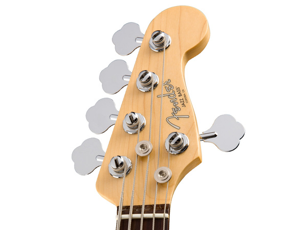 FENDER American Professional Jazz Bass V RW Olympic White