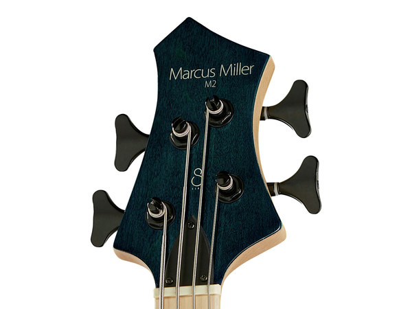 MARCUS MILLER M2 4 TBL Transparent Blue (2nd Gen)