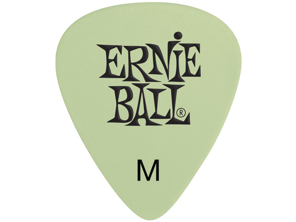 ERNIE BALL 9225 Super Glow Cellulose Medium Picks (12 pcs)