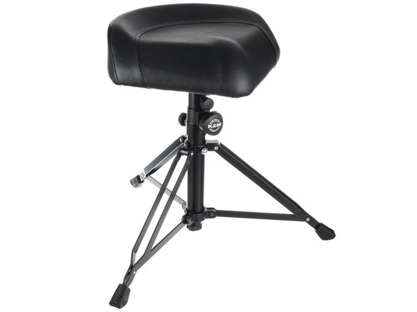 KONIG & MEYER 14055 Drummer's Throne Nick Black Imitation Leather