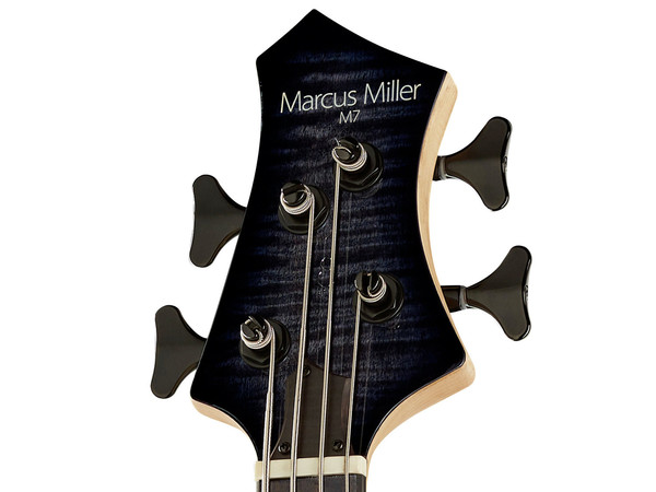 MARCUS MILLER M7 Swamp Ash 4 TBK Transparent Black (2nd Gen)