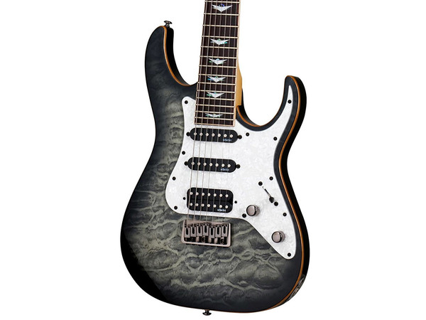 SCHECTER Banshee Extreme 7 CB Charcoal Burst