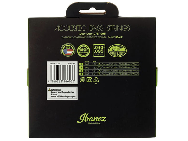 IBANEZ IABS4XC32 Acoustic Bass Strings 32