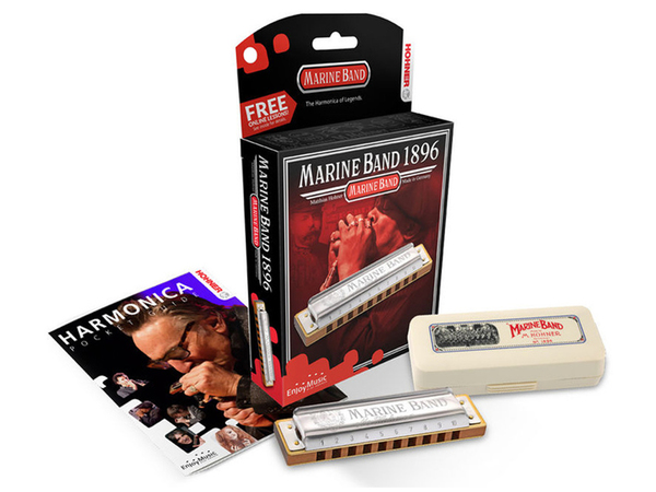 HOHNER Marine Band Classic 1896 D (Re)