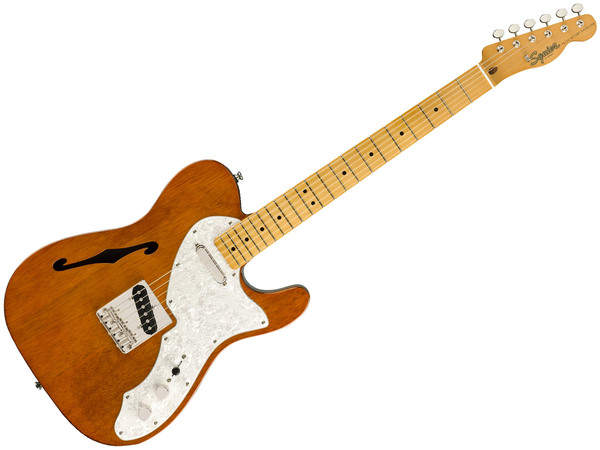FENDER Squier Classic Vibe 60s Telecaster Thinline MN Natural